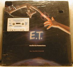 John Williams E.T. The Extra Terrestrial - In Shrink Wrap CASSETTE