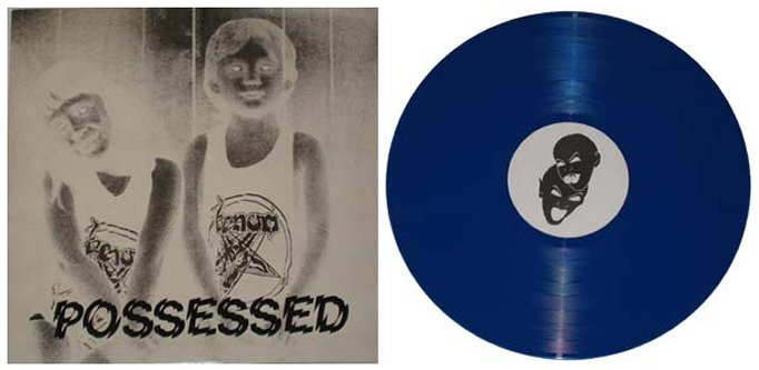 VENOM - Possessed - Blue Vinyl